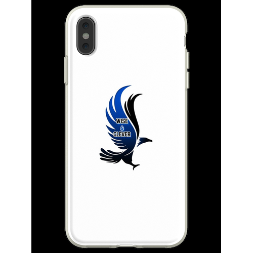 Wise & Clever Blue Eagle HARRYPOTTER Flexible Hülle für iPhone XS Max