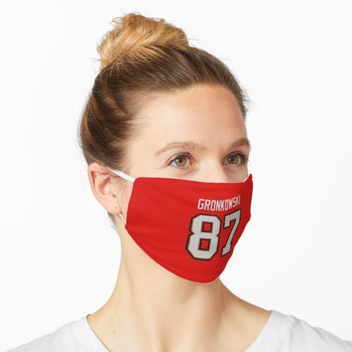 NFL Rob Gronkowski Tampa Bay Freibeuter Trikot Maske