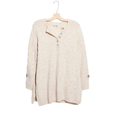 Free People Oatmeal Around the Clock Top