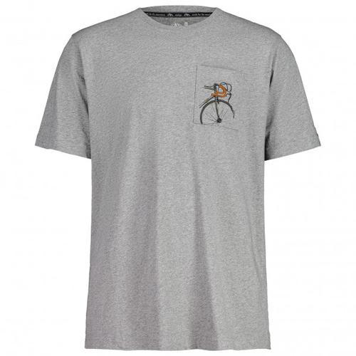 Maloja - SegelfalterM. - T-Shirt Gr M grau