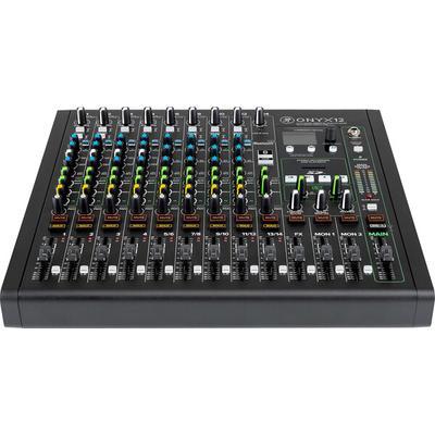 Mackie ONYX 12-Channel mixer w/USB/Bluetooth