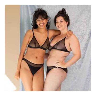 Olly Lingerie - Selune Panties In Black - M