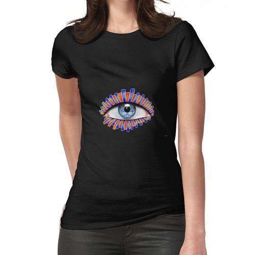 Globellium V1 - ein Auge auf dich Frauen T-Shirt