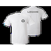 Lenovo Legion White T-Shirt Round neck Legion branded T-shirts in White fabric with special fits for Female(Size:M). Screen printed chest and back logo plus a woven sleeve label. Size : M | Color : White | Made for : Female | Weight : 180gms | Materials : 100% cotton | 210gsm |...