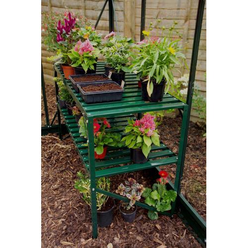 Vitavia Pflanztisch, BxTxH: 121x54x76 cm grün Pflanztische Gewächshäuser Garten Balkon Pflanztisch