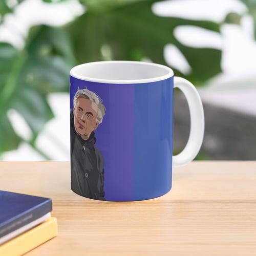 Carlo Ancelotti Digital Art Mug