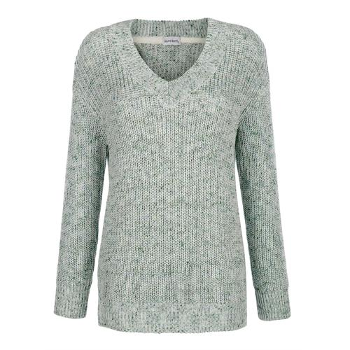 Pullover Laura Kent Lindgrün::Salbeigrün