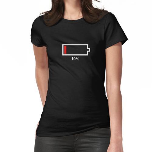 Eine leere Batterie Frauen T-Shirt