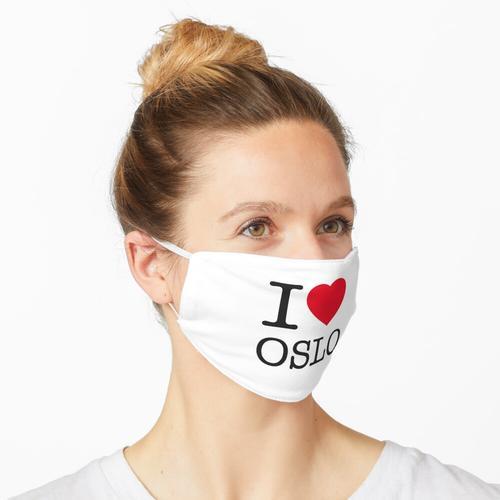 I LOVE OSLO Maske