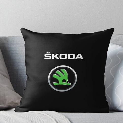 BEST SELLER - Skoda Logo Merchandise Kissen