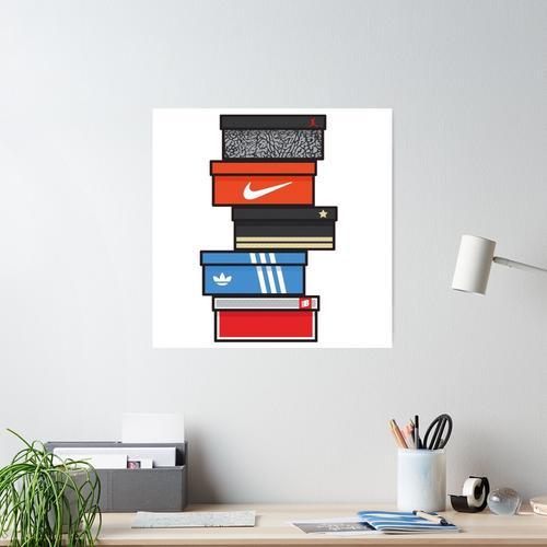 sneaker box Poster