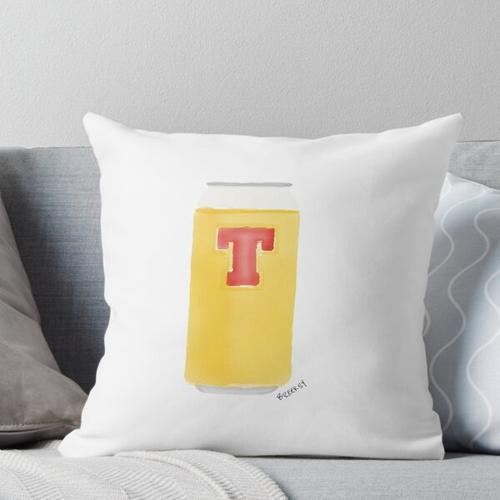 Tennents Throw Pillow