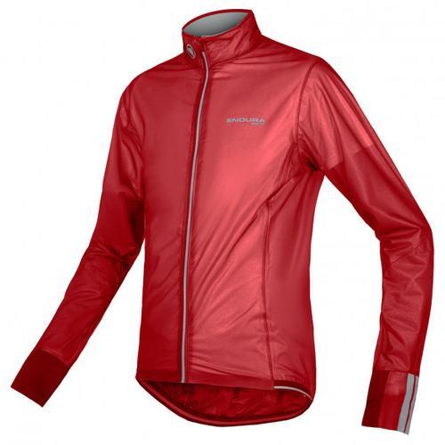 Endura - FS260-Pro Adrenaline Race Cape II - Fahrradjacke Gr M rot/rosa