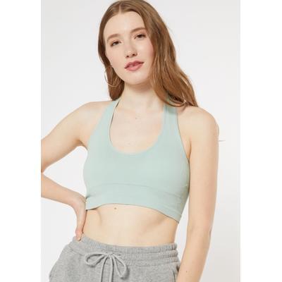 Rue21 Womens Mint Seamless Halter Bra - Size Xs