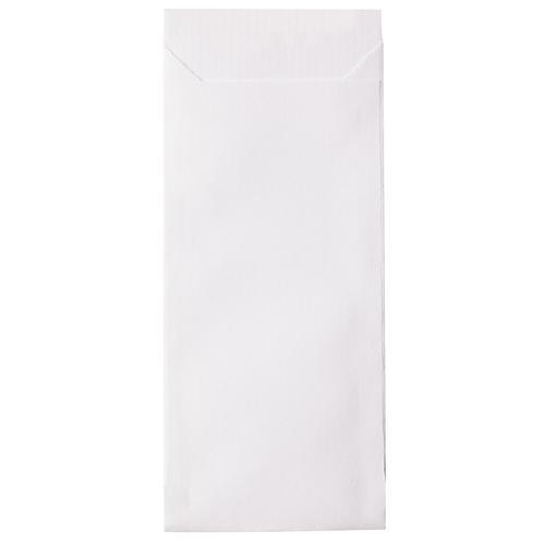 Mini-Papiertüten-Set, weiß, 5,3 x 11,5 cm, 50 Stück