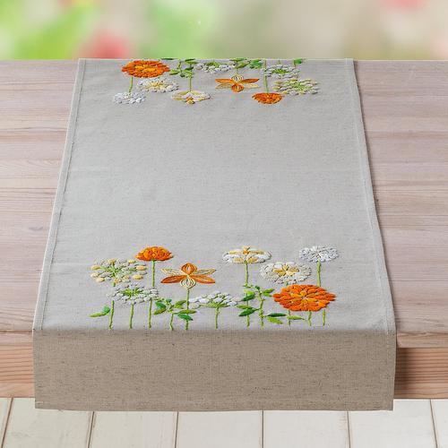 Stickläufer Wiesenblumen