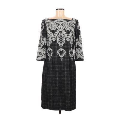 Peggy Jennings Casual Dress - Sheath: Gray Dresses - Used - Size Medium