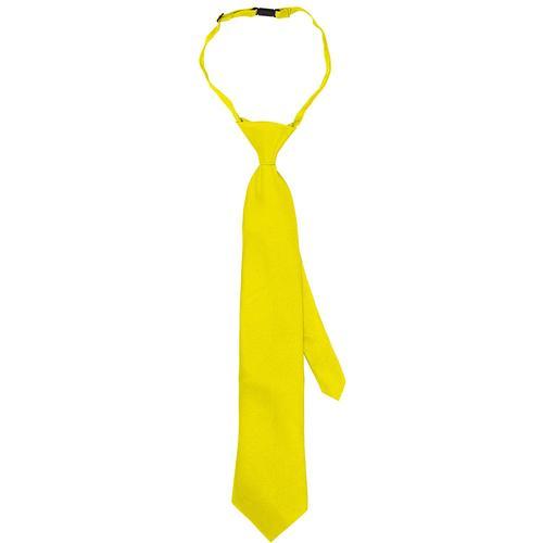 Krawatte, gelb