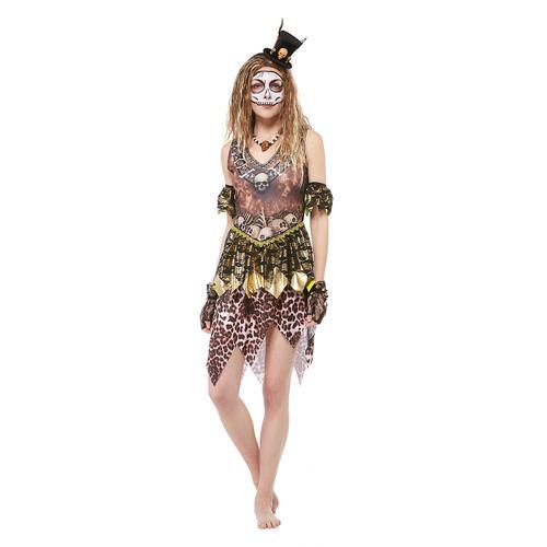 Voodoo-Kostüm für Damen