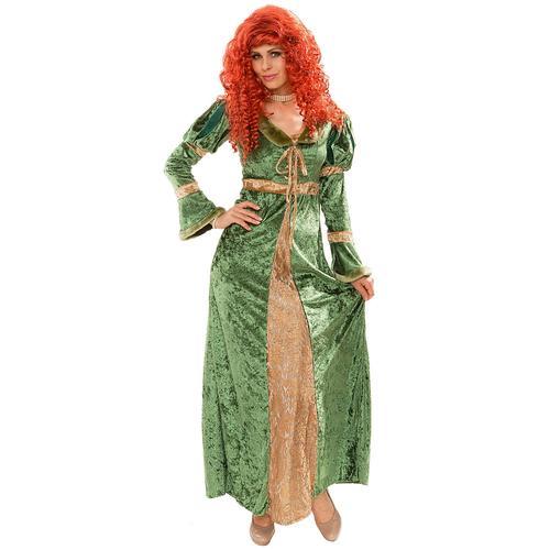 Kostüm Burgfräulein, grün