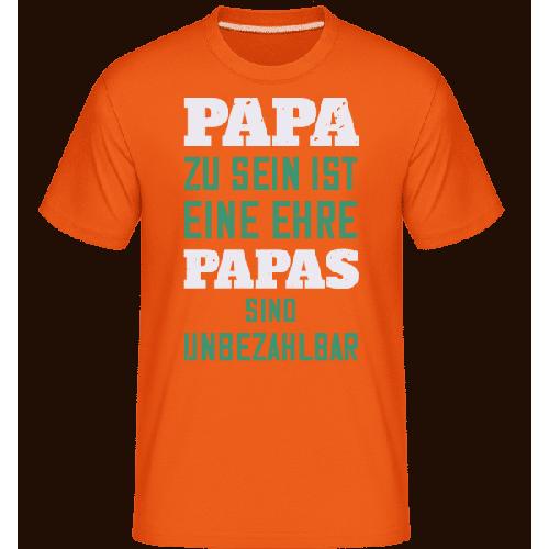 Papas Sind Unbezahlbar - Shirtinator Männer T-Shirt