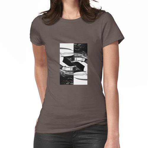 Doppelseitiger Turbo Frauen T-Shirt