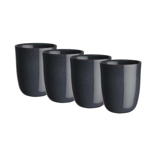 BUTLERS NATIVE 4x Tasse ohne Henkel 300ml Geschirr
