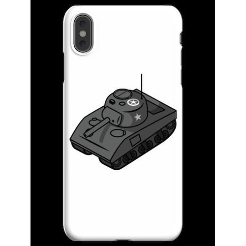 Kleiner Sherman Panzerstahl iPhone XS Max Handyhülle
