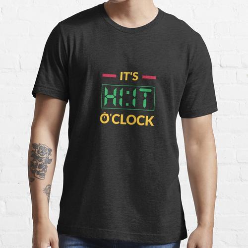Hochintensives Intervalltraining Geschenk HIIT Trainer Essential T-Shirt