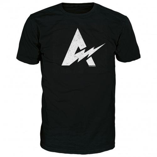 Alprausch - Blitzableiter Cotton T-Shirt Gr M schwarz
