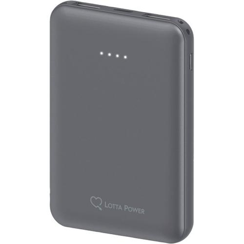 Lotta Power Powerbank Space Grey Smartphoneaccessoire
