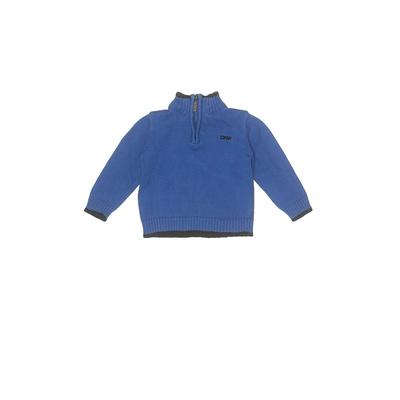 DKNY Pullover Sweater: Blue Tops - Size 18 Month