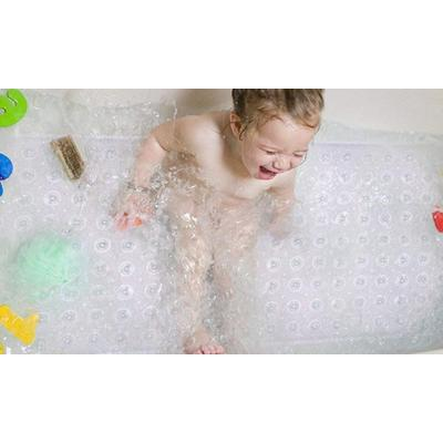 2x Tapis de bain antidérapant