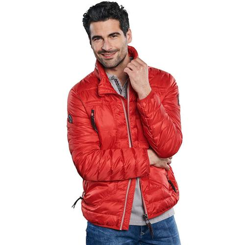 Funktionale Outdoor-Jacke in Trendfarbe Engbers Weinrot