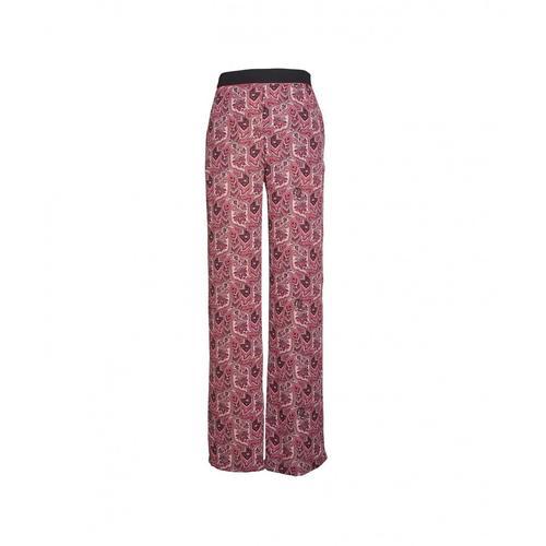Gaelle Damen Hose im Paisley-Print Pink