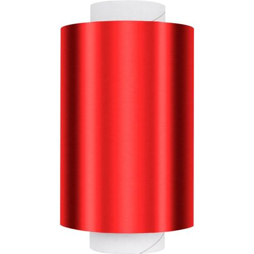 Fripac Alu Haarfolie Rot 16 My Dispenser Rolle 12 cm x 150 m Alufolie