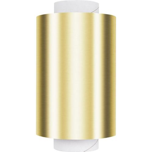 Fripac Alu-Haarfolie Gold 20 My Dispenser Rolle 12 cm x 100 m Alufolie