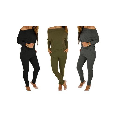 Damen-Jumpsuit: Khaki/Gr. 34-36