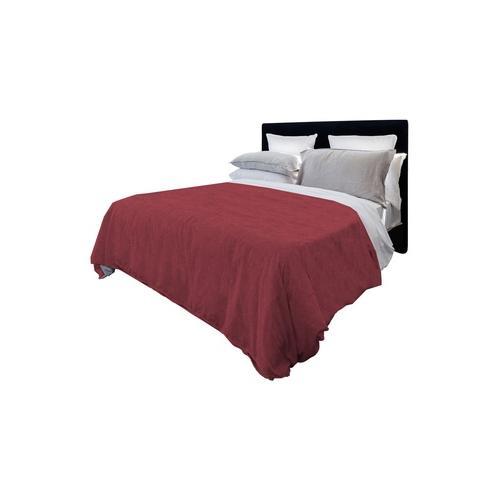 Tagesdecke aus Baumwolle: Rot / 220 x 270 cm