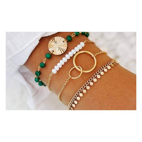 4er-Set Bohemian-Armband: 2