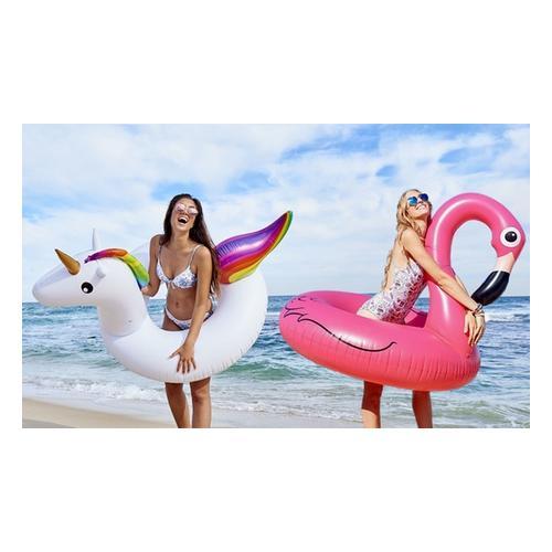 Großer Schwimmreifen: Flamingo/1