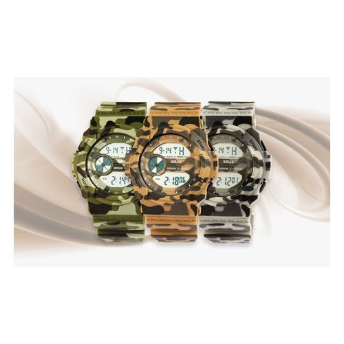 Digitale Armbanduhr: Beige