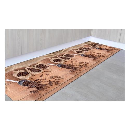 Rutschfester Läufer: Kaffee / 50 x 250 cm