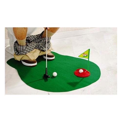 Lustiges Toiletten-Golfspiel