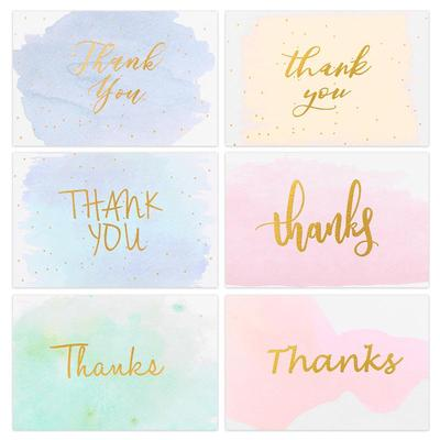 Cartes de vœux de remerciement d...
