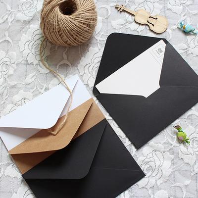 Enveloppes en papier Kraft vierg...