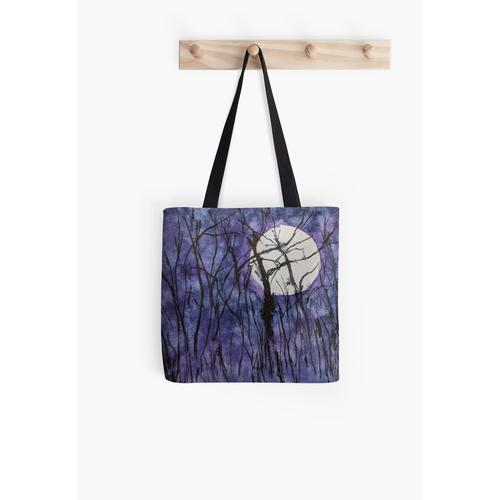Mondscheinbäume II Tasche