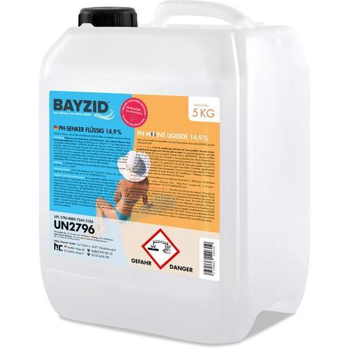 Höfer Chemie - 4 x 5 kg BAYZID® pH Minus flüssig 14,9%