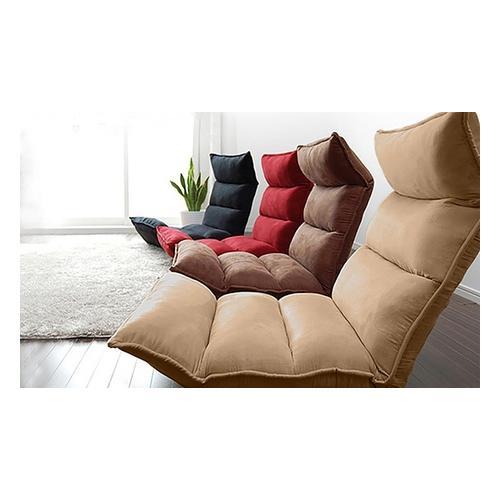 Faltbares Sofa: Modell 1 / Rot