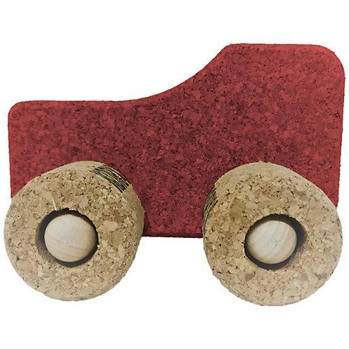 Spielzeugauto Kork Traktor, rot